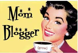 Mom blogger vintage picture