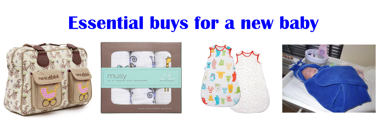 essentials buys for a baby