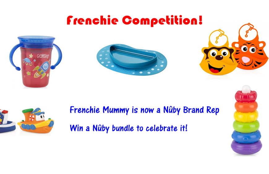 Frenchie Mummy is a proud Nûby Brand Rep! Let's celebrate with a competition!