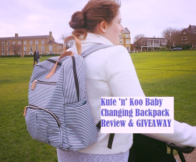 Kute 'n' Koo Baby Changing Backpack Review