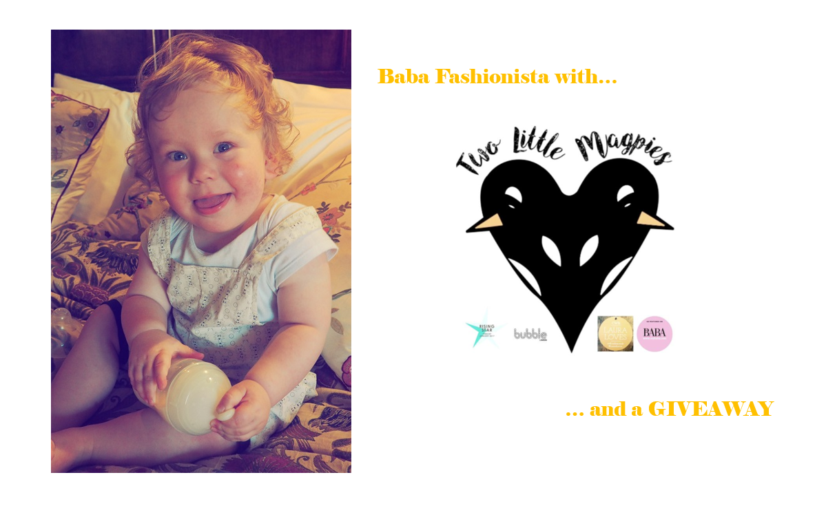 Baba Fashionista with Two Little Magpies