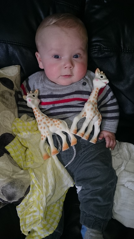 Sophie La Girafe Baby Skincare Review, baby toy, teether, review