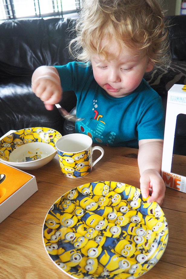Arthur Price Despicable Me 3 Collection Review, cutlery, china, plate, Minions