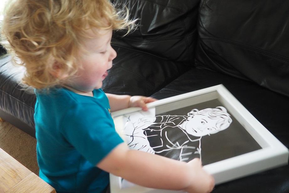 Twenty Fingers Personalised Papercut Review, frame, décor, home