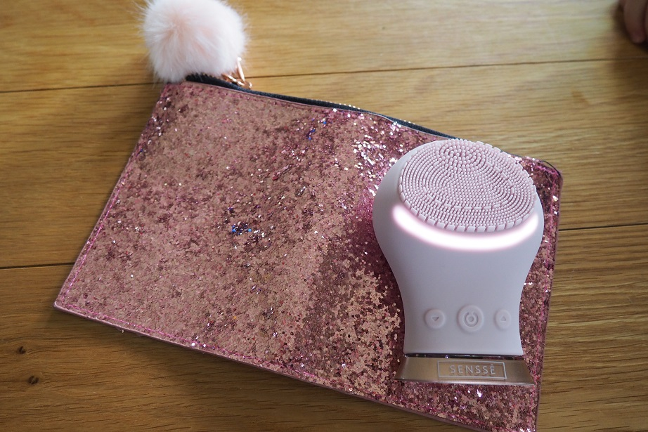 SENSSE Facial Brush Review, skincare, beauty