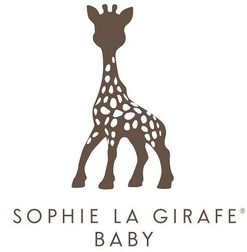 Sophie La Girafe Baby Skincare Review, logo, baby skincare