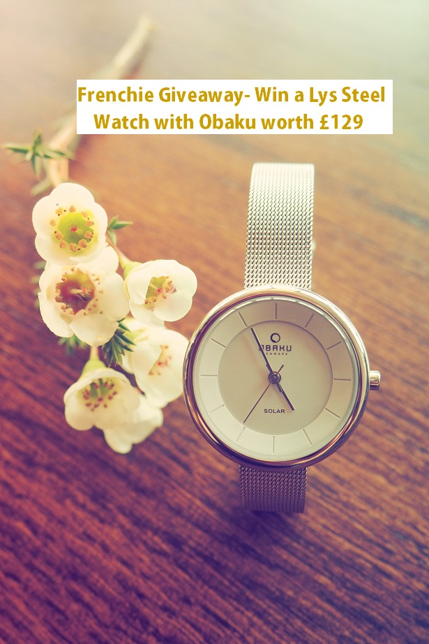 Obaku Watch Review, giveaway, win, competition