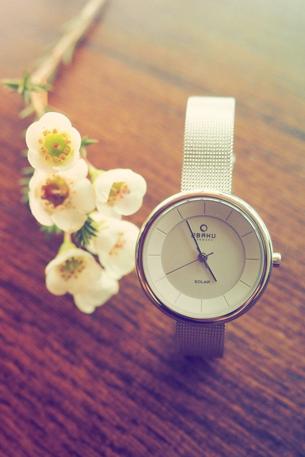 Obaku Watch Review, watch, flower