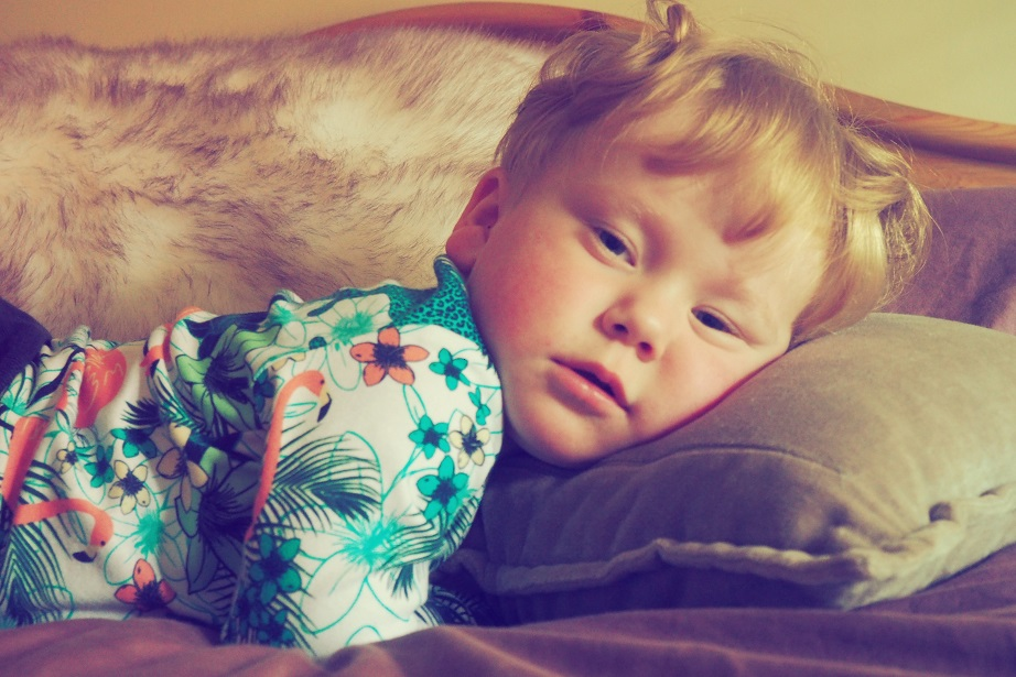Baba Fashionista with Sleep No More, funky baby clothes, baby relaxing