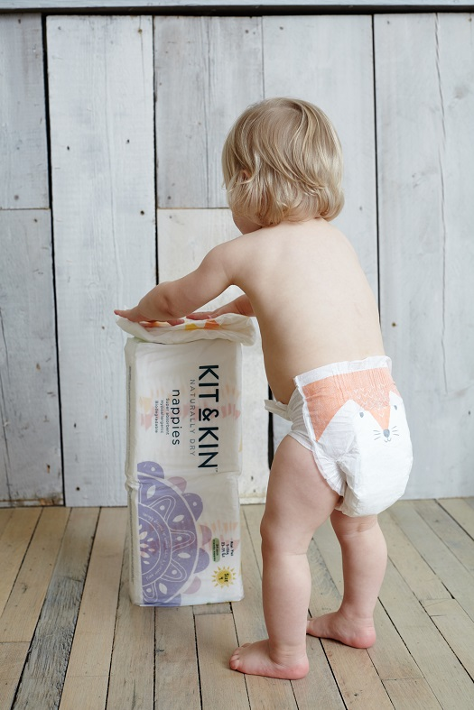 Kit & Kin Nappies Review , nappies sustainable, baby