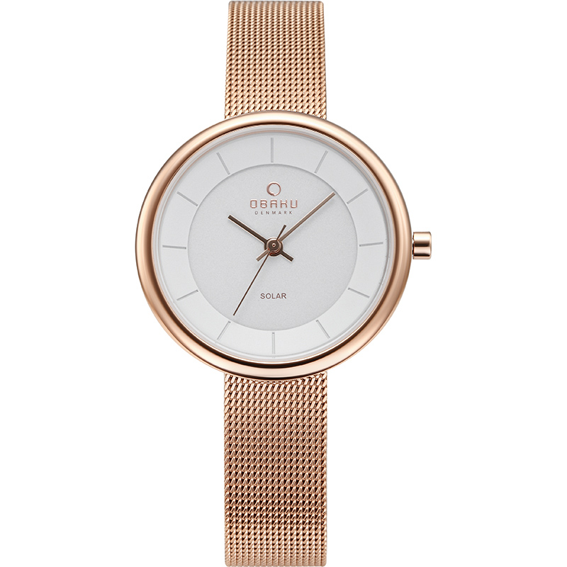 Obaku Watch Review, rose gold watch, steel watch