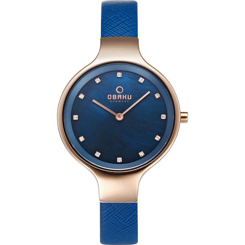 Obaku Watch Review, blue watch