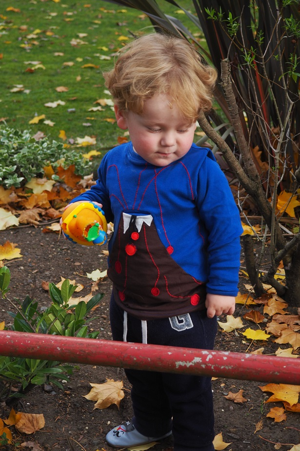 Baba Fashionista with UBANG, toddler playing. Danish brand