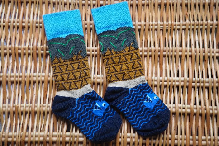 Baba Fashionista with UBANG, socks, Danish brand