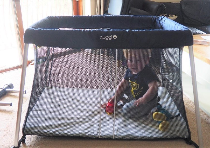 Cuggl Deluxe Superlight Travel Cot Review