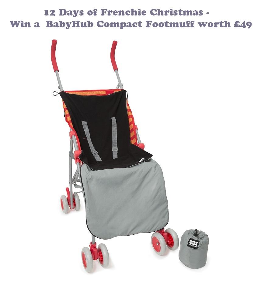 Win a BabyHub Compact Footmuff, giveaway, buggy accessory, BabyHub