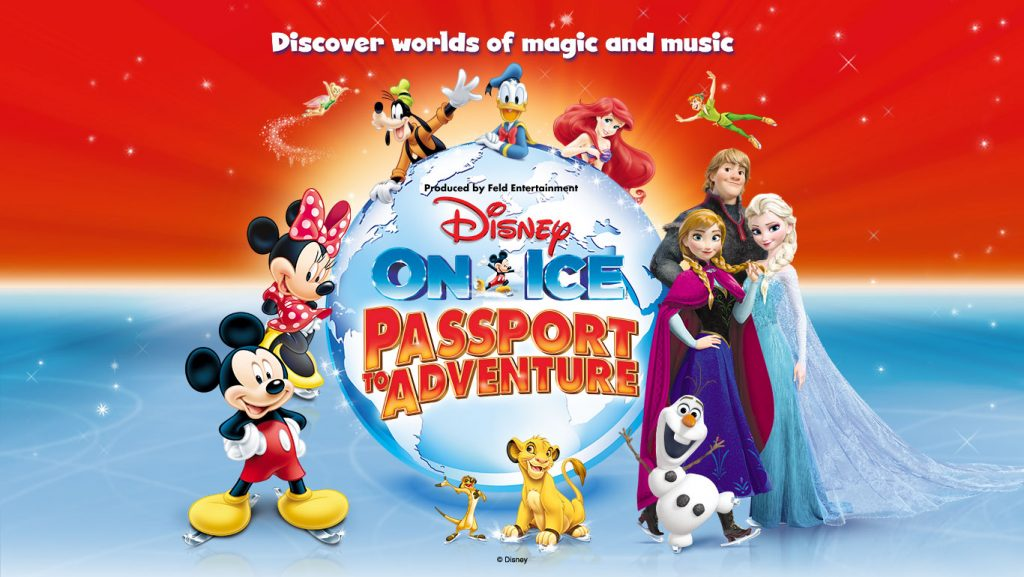 Passport to Adventures, Disney on Ice, family day out, London O2