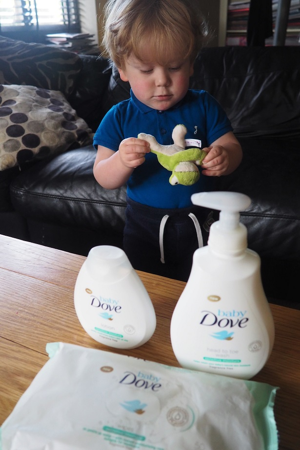 Baby Dove Sensitive Range Review, baby products, review, Baby Dove