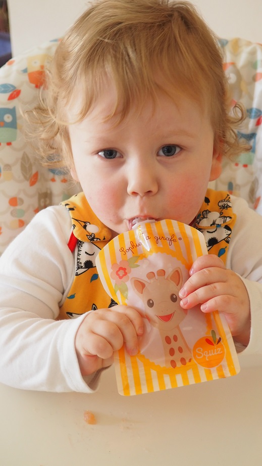 Win a pack of Squiz Food Pouches,reusable pouches, giveaway