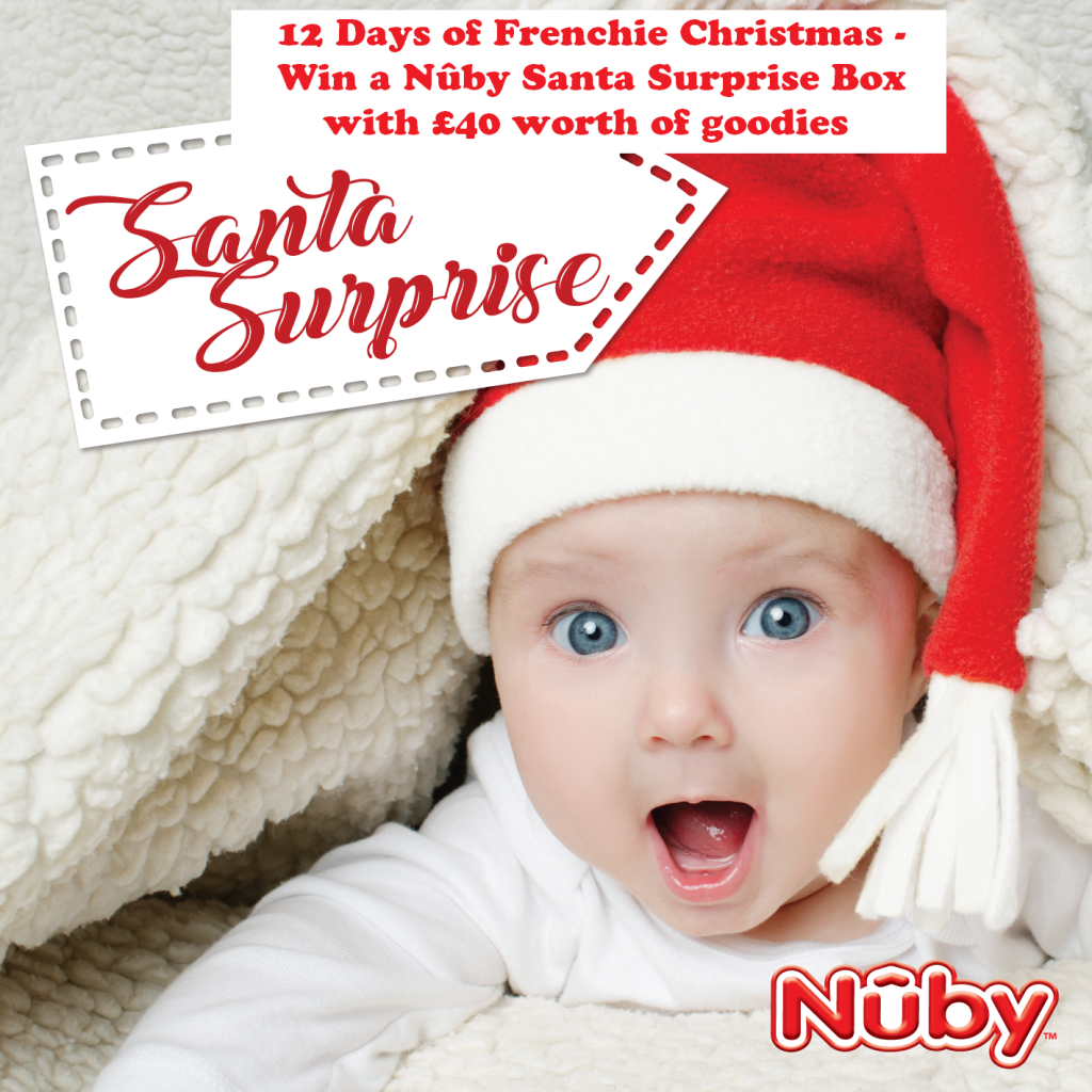 Win a Nûby Santa Surprise Box, baby brand, Christmas giveaway, Secret Santa