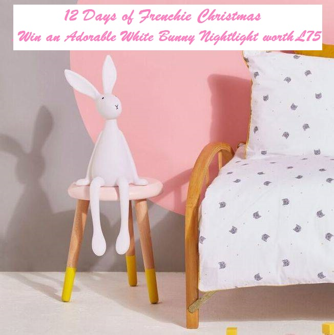 Win an Adorable White Bunny Nightlight worth £75