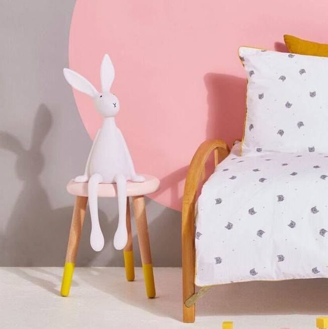 Win an Adorable White Bunny Nightlight, homeware, children's bedroom, giveaway, Ella James