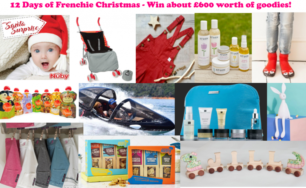 12 Days Of Frenchie Christmas, Christmas giveaways, competitions