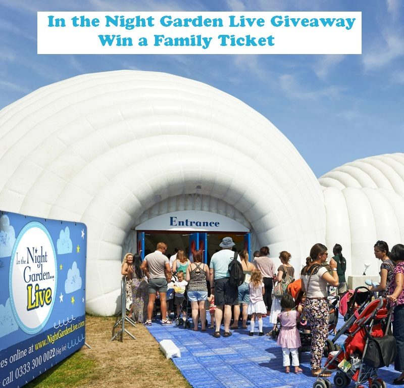 In the Night Garden Live is back, kids' show, In the Night Garden Live, 2018