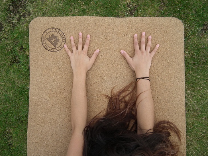 Win a Classic Cork Yoga Mat worth £65, CorkYogis, Yoga Mat, Dragons' Den, Frenchie Mummy