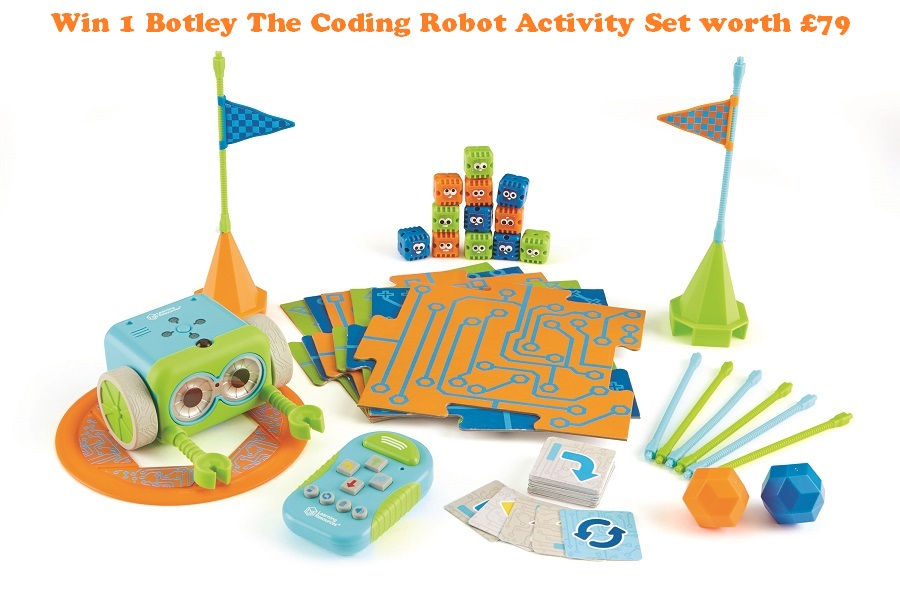 Blog Anniversary Giveaways, The Frenchie Mummy, Win 1 Botley The Coding Robot Activity Set, Learning Resources, Coding Toy, Educational Toy