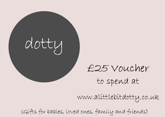 Win a £25 Voucher with A Little Bit Dotty, Gifts Shop, Blog Anniversary Giveaways, The Frenchie Mummy, Original Presents