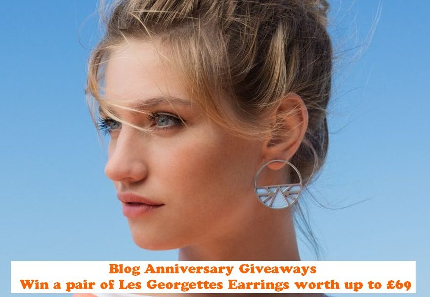 Win a pair of Les Georgettes Earrings, Les Georgettes, Original French Customised Jewellery, Blog Anniversary, The Frenchie Mummy