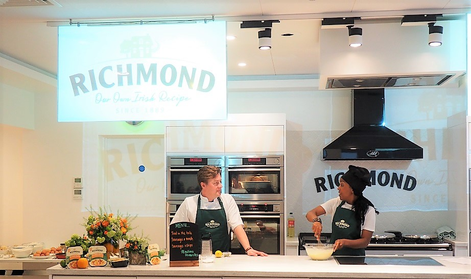 Launch of Richmond Chicken Sausages, Angellica Bell, Cooking Class, French Recipe, Richmond Sausages, the Frenchie Mummy, Giveaway