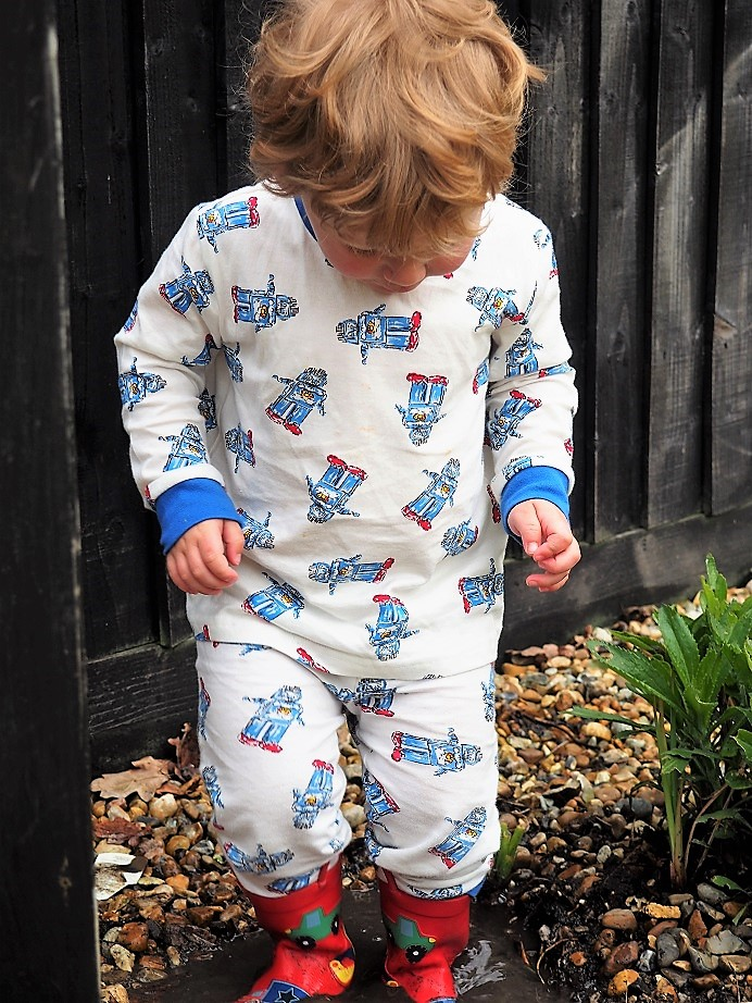 Baba Fashionista with Their Nibs, Frenchie Blog Anniversary, Vintage-inspired children's clothing, Retro nightwear, Giveaway, the Frenchie Mummy