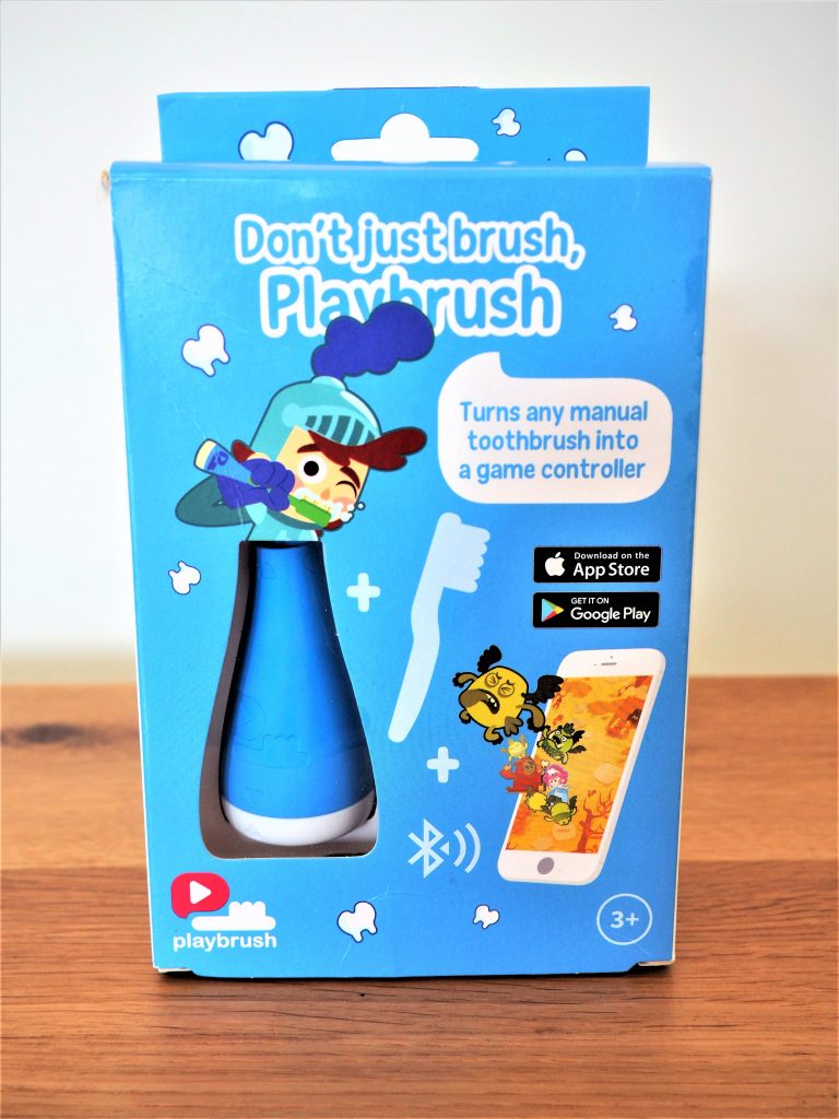Playbrush Review, Cool Device, Makes Brushing Fun, Brush Your Teeth, Review, The Frenchie Mummy