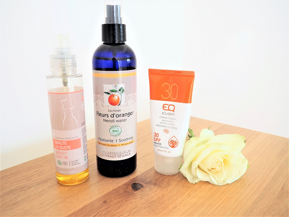 EcoBeauty Review. Organic & Natural Beauty Products, Sun Protection, Giveaway, the Frenchie Mummy