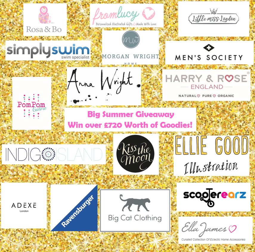 Big Summer Giveaway, Competition, Over £720 worth of goodies, win, the Frenchie Mummy Blog