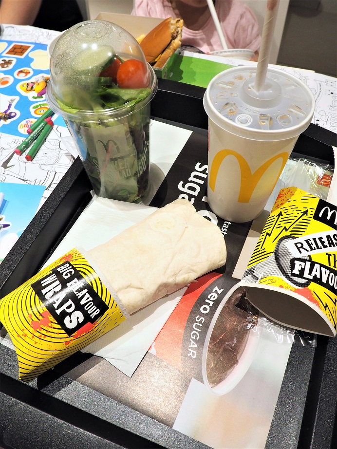 New McDonald's Happy Meal Grilled Chicken Wrap, Happy Meal, New Menu, Healthier Choice, The Frenchie Mummy