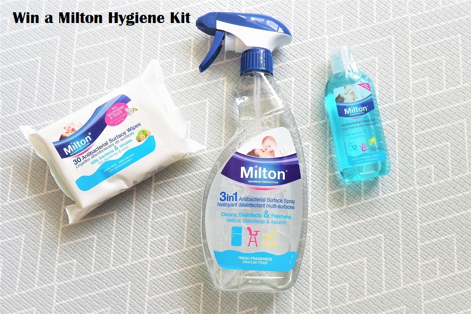 Win a Milton Hygiene Kit, Milton, Giveaway, Sterilising Products, Hygiene Products, Win, Kit, The Frenchie Mummy