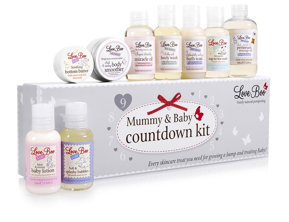 Love Boo Mummy & Baby Countdown Kit, Love Boo, Back to School Giveaway, natural skincare, for mums & mums-to-be, the Frenchie Mummy