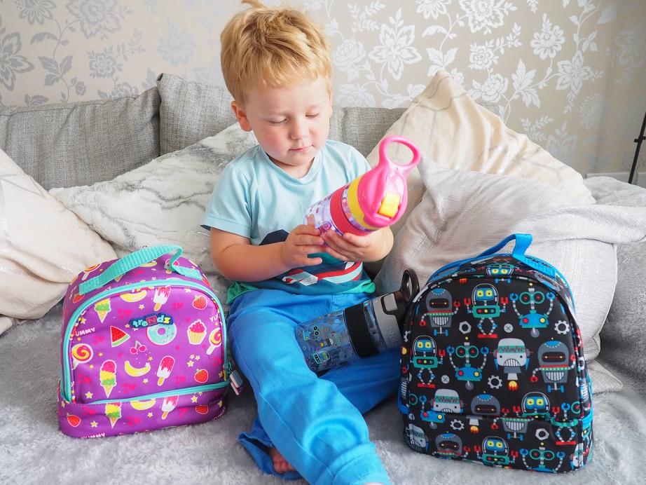 Nûby Trendz 2 in1 Backpack, Nûby Trendz Range, backpack, lunch bag, preschool & school, Back to School Giveaways, the Frenchie Mummy