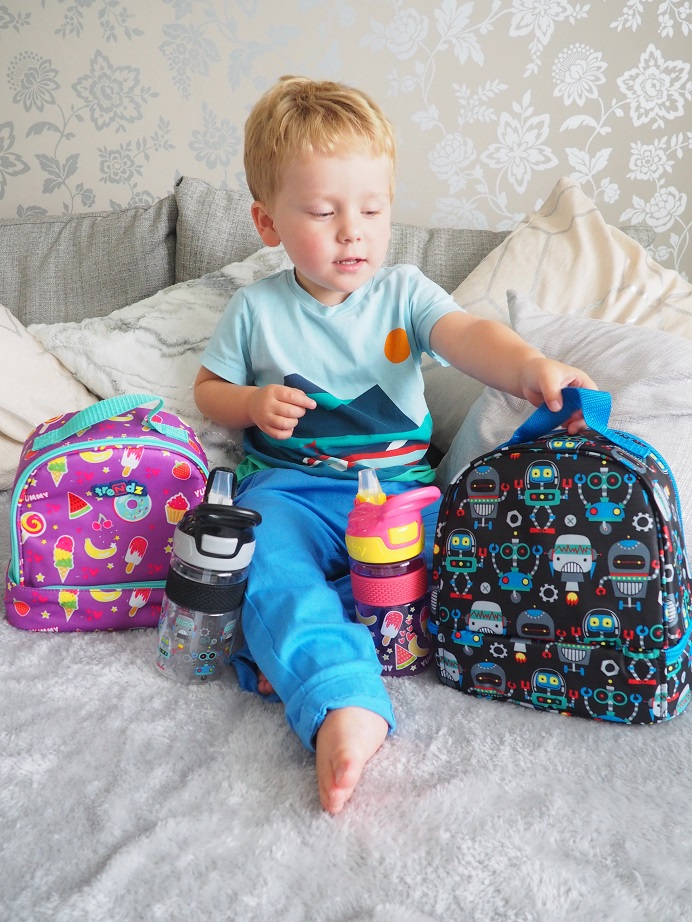 Nûby Trendz 2 in1 Backpack, Nûby Trendz Range, backpack, lunch bag, preschool & school, Back to School Giveaways, the Frenchie Mummy