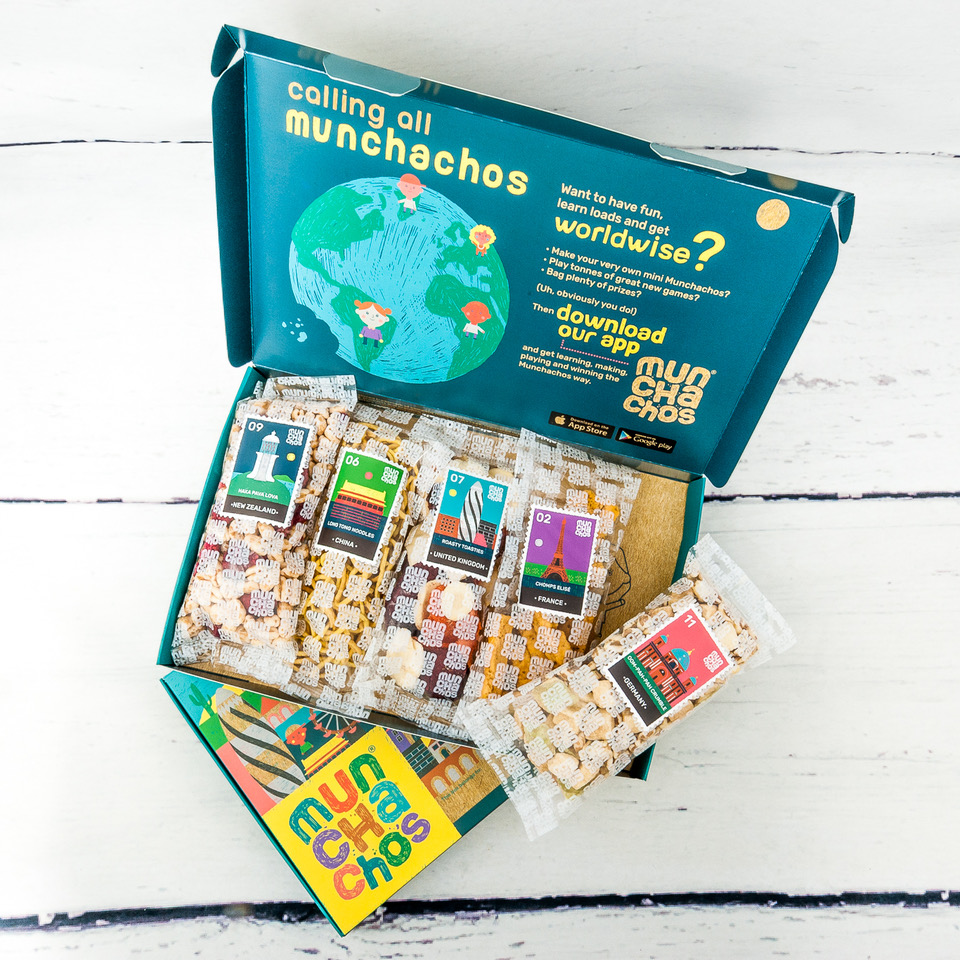 Munchachos Box, Subscription Boxes, Healthy Snacks for Children, Children's Snack Box, Christmas Giveaway, the Frenchie Mummy