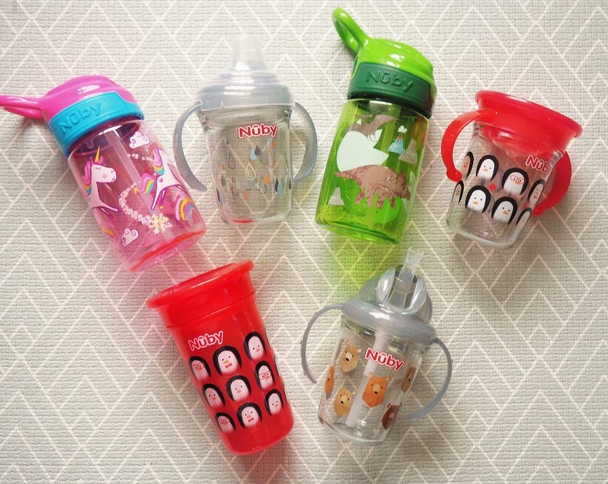 Nûby Sipeez and Thirsty Kids Cups, Nuby, Drinking Accessories, Christmas Giveaway, the Frenchie Mummy