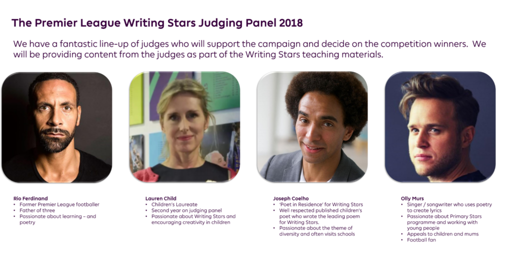 Premier League Writing Stars Competition, Primary Stars 2018, Educational Programme, The Frenchie Mummy