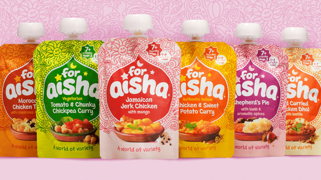 For Aisha Baby Food Hamper, Halal Baby Food, Exotic Meals, Weaning, Christmas Giveaway, The Frenchie Mummy