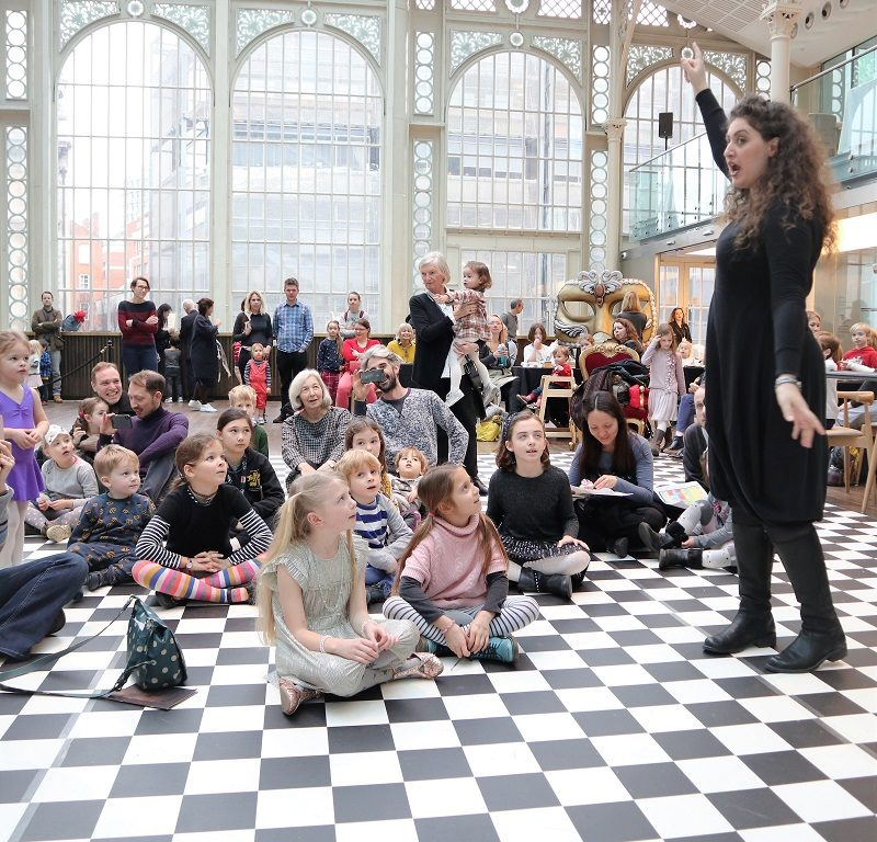 Family Sunday at the Royal Opera House | The Frenchie Mummy