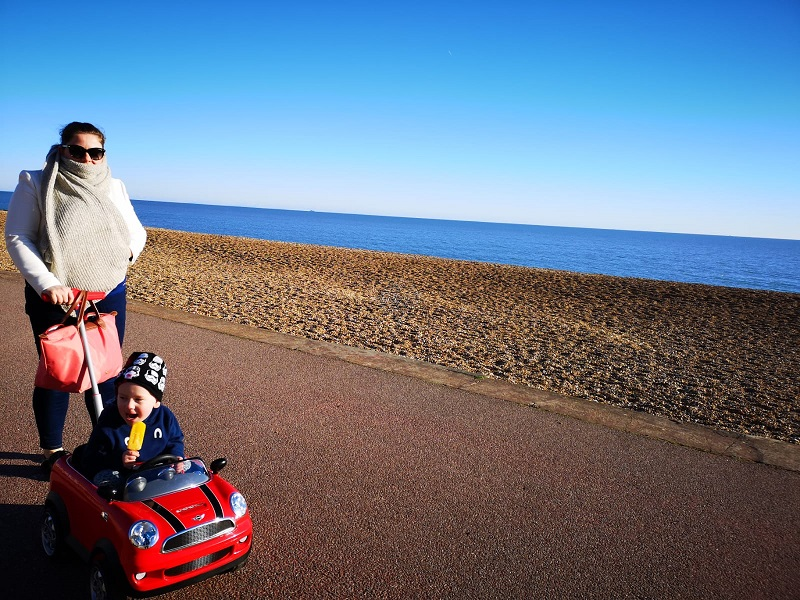 February 2019, Monthly Highlights, Memories with my Family, The Frenchie Mummy, Hythe, on the Coast, Kent Life
