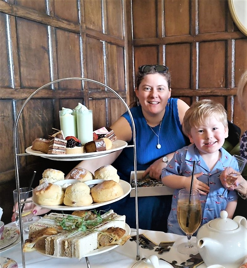 March 2019, Monthly Highlights, The Frenchie Mummy, Afternoon Tea, Eastwell Manor Spa, Kent