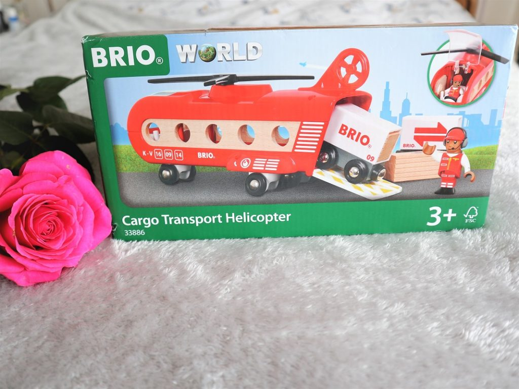BRIO Cargo Transport Helicopter Review, BRIO, BRIO World, Toys Review, Wooden Toys, The Frenchie Mummy